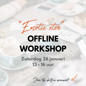 Offline workshop - Emotie eten