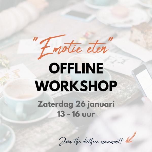 Offline workshop - Emotie eten