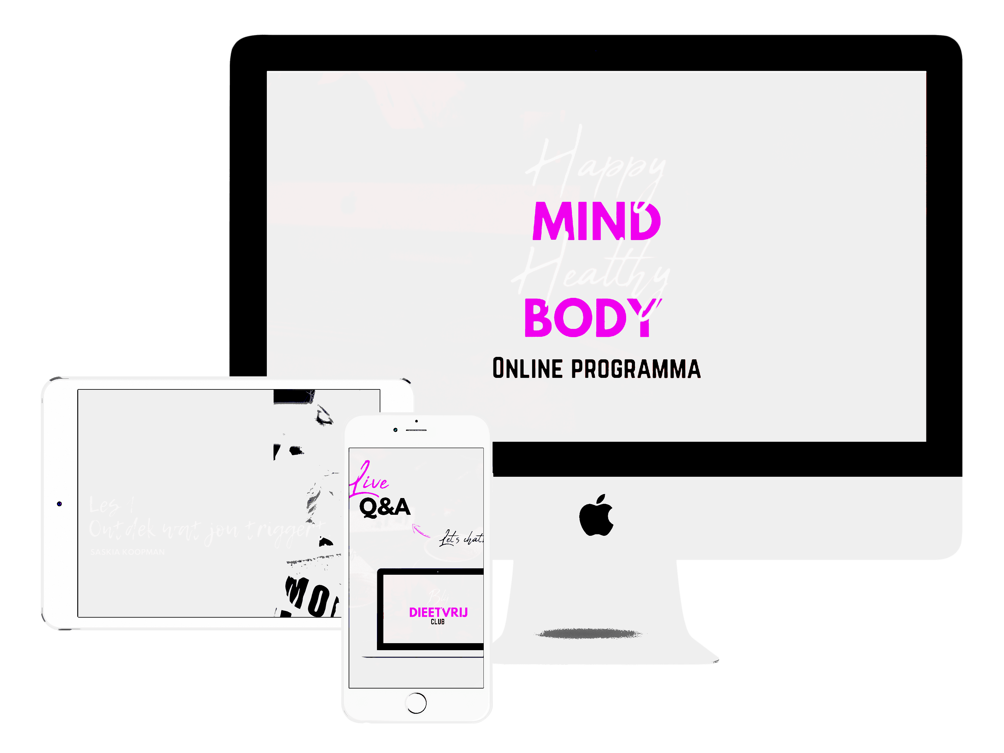 Happy Mind Healthy Body Productafbeelding