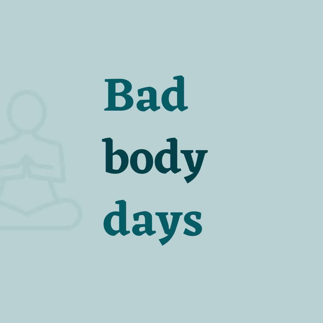 Bad body days cover
